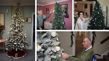 Festive fun at Walton-on-Thames care home